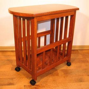 ECHOS Furniture - droit - blanc - Table Roulante