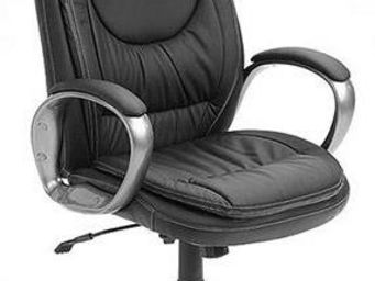WHITE LABEL - fauteuil de bureau ergonomique design coloris noir - Chaise De Bureau