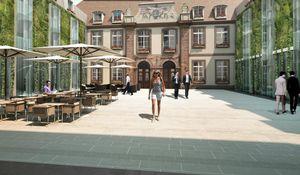 Agence Nuel / Ocre Bleu - hotel strasbourg - Réalisation D'architecte