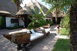 Africa Style - pirogue - Canapé De Jardin