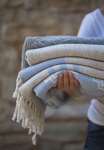 BARINE - lambswool throws - Jeté De Lit