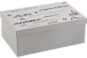 Aubry-Gaspard - boite carrée métallique - Boite À Thé