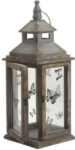 Aubry-Gaspard - lanterne de jardin papillon papillon - Lanterne D'extérieur