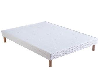 Bultex - sommier confort ferme 150x190 bultex - Sommier Fixe À Lattes