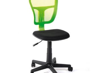 WHITE LABEL - chaise de bureau pistache - hispa - l 47 x l 41 x - Chaise De Bureau