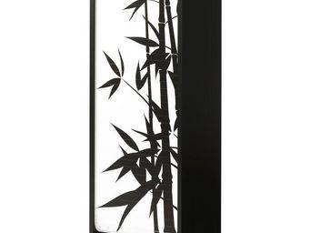 WHITE LABEL - classeur à rideaux noir - curtain n°7 - l 38 x l 3 - Armoire À Rideaux
