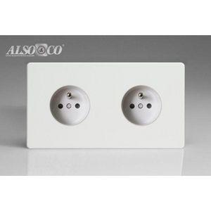 ALSO & CO - double socket - Prise Électrique
