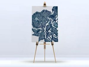 la Magie dans l'Image - toile hibiscus - Impression Numérique Sur Toile