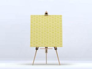 la Magie dans l'Image - toile lotus jaune foncé - Impression Numérique Sur Toile
