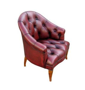 Techni Salons - chesterfield - Fauteuil Crapaud