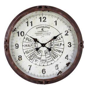 Maisons du monde - compas - Horloge Murale