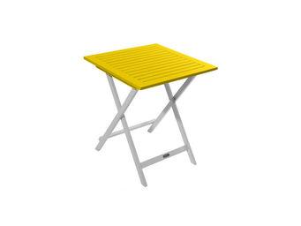 City Green - table de jardin pliante carrée burano - 65 x 65 x  - Table De Jardin Pliante