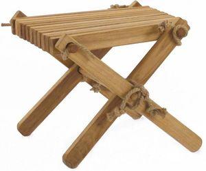 ECOFURN - repose pieds table basse lilly chêne - Table Basse De Jardin