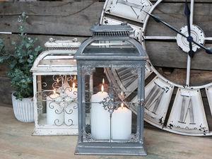 CHIC ANTIQUE - pour bougies - Lanterne D'intérieur