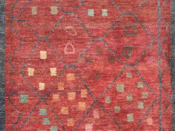 Bausol - gyanpur (star red) - Tapis Sur Mesure