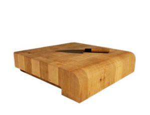 CHABRET - billot j design studio qooq - Planche À Découper