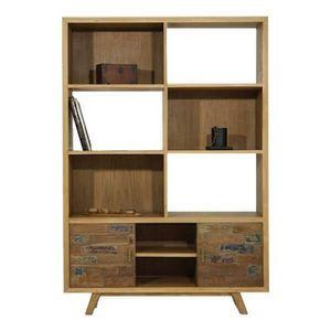 Mathi Design - bibliothèque wood - Bibliothèque