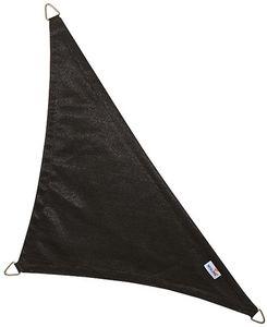 jardindeco - voile d'ombrage triangulaire coolfit noir 4 x 4 x - Voile D'ombrage