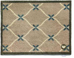 HUG RUG - tapis en fibres naturelles home cadrillage - Paillasson