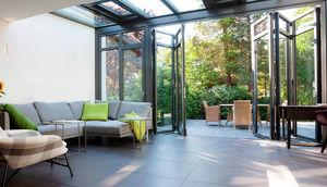 Solarlux -  - Porte Fenêtre Pliante