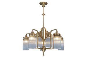PATINAS - berlin 5 armed chandelier - Lustre