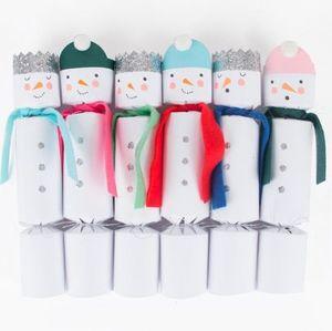 MY LITTLE DAY - bonhomme de neige - Crackers