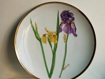 ISABELLE DAVID - iris - Assiette De Présentation