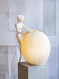 PAPIER À ÊTRES - hors de sa robe - Sculpture Lumineuse