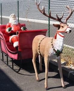 DECO PRIVE - traîneau à louer - Décoration De Noël