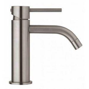 PAFFONI - mitigeur lavabo sans tirette ni vidage, finition steel looking - (lig071st) - Autres Divers Salle De Bains
