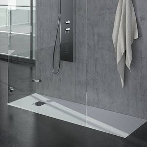 Grandform - receveur de douche ardesia matt grandform 140x80 en 5 couleurs - couleur: blanc - Receveur De Douche À Poser