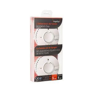 ANGELEYE - alarme détecteur de fumée 1427770 - Alarme Détecteur De Fumée