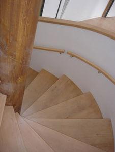 Go Bois -  - Escalier Hélicoïdal