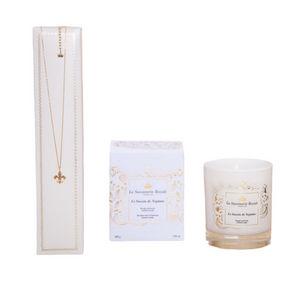 LA SAVONNERIE ROYALE - bougie le bassin de neptune avec collier - Bougie Parfumée