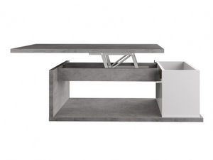 WHITE LABEL - table basse aldana - Table Basse Relevable