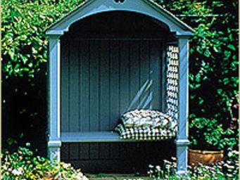 Lloyd Christie Garden Architecture -  - Banc Couvert