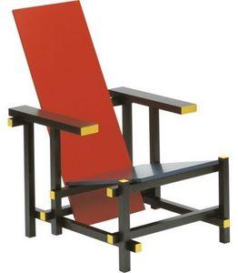 Classic Design Italia - red & blue - Fauteuil Bas