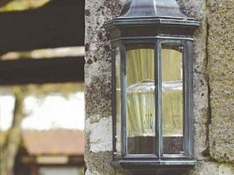 Replicata - wandleuchte modell phoros - Demi Lanterne Murale D'extérieur