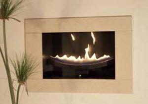 Cvo Fire - cast slit - Foyer De Cheminée À Porte Escamotable