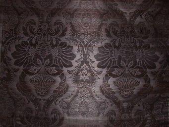 PIETRO SEMINELLI - abaca noir gaufré - Tissu D'ameublement
