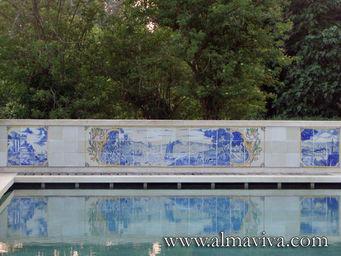 Almaviva - d�coration bord de piscine - Carrelage De Piscine