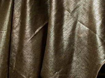 PIETRO SEMINELLI - lin metallise argent - Tissu D'ameublement