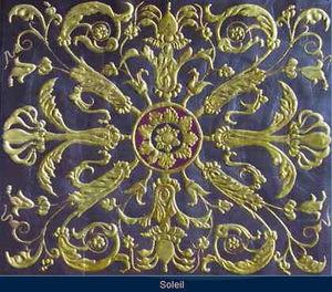 Lutson Goudleder - solei - Cuir De Cordoue