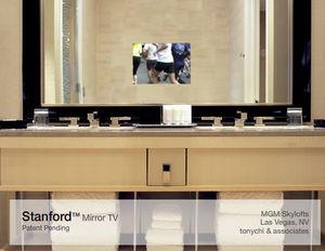 ELECTRIC MIRROR - standford - Miroir Tv De Salle De Bains