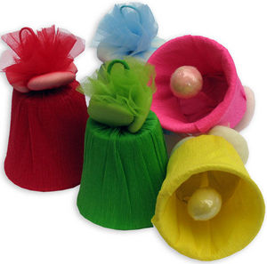 Confetti Pelino - campanella - Bonbonni�re Mariage