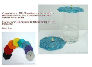 Cr�ations Juliane -  - Couvre Verre
