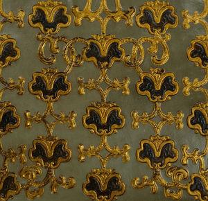 Lutson Goudleder - skandinavian baroque design - Cuir De Cordoue