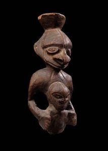 Michael Hamson Oceanic Art - figure de maternité ancestrale - Statuette