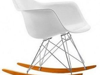Le Rendez-Vous Design - chaise rar 1950 vitra charles & ray eames - Rocking Chair