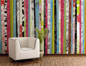 DECLIK - stripes - Papier Peint Panoramique